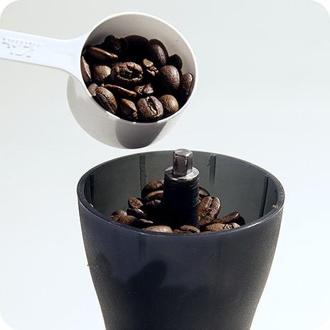 適したコーヒーと分量